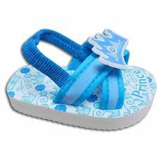amazon com baby boys flip flop sandals blue size 5 for 12 18