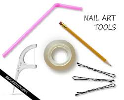 HOUSEHOLD THINGS WHICH CAN BE USED AS NAIL ART TOOLS THEINDIANSPOT - Nail design tools at home