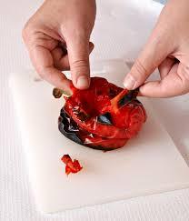 comment cuisiner des poivrons comment peler les poivrons facilement et faire des poivrons