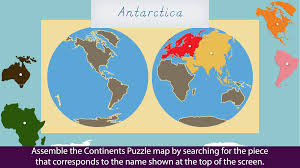 Map Of Continents And Oceans Montessori Continents U0026 Oceans Android Apps On Google Play