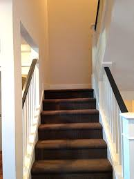 elegant carpet runner for stairs home depot with nice brown carpet