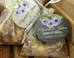 bird seed wedding favors birdseed wedding favors in burlap bags with vintage
