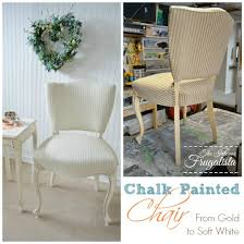 French Provincial Armchair Chalk Painted French Provincial Chair What Would You Do The
