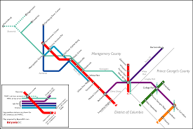 Metro Map Silver Line by Action Committee For Transit