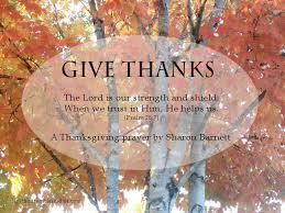 a thanksgiving prayer by barnett lighthouse bible studies