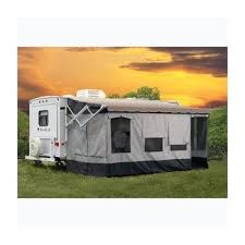 Rv Awning Extensions Amazon Com Carefree 291800 Vacation U0027r Screen Room For 18 U0027 To 19