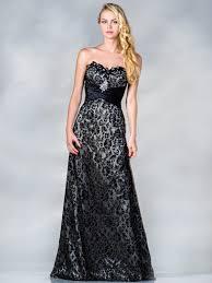 vintage black lace evening dress sung boutique l a