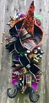 Witch Wreath Halloween by 1477 Best Wreath Ideas Images On Pinterest Halloween Ideas