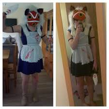Studio Ghibli Halloween Costumes Princess Mononoke Cosplay Movies Studio Ghibli