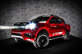 The New Nissan Frontier Attack Concept William Simpson Nissan