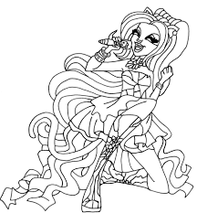 Catty Noir Coloring Pages catty noir coloring page free printable coloring pages