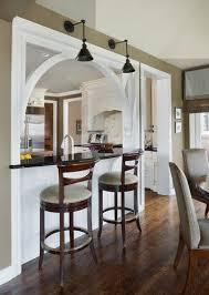 Small Kitchen Dining Room Design Ideas Best 25 Pass Through Kitchen Ideas On Pinterest Half Wall