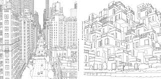 chicago skyline coloring page eson me