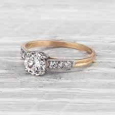 1940s engagement rings breathtaking engagement rings from each decade southern living