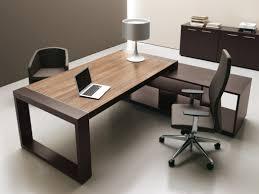 image de bureau bureau de direction en bois prestige