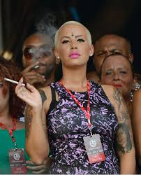 amber rose forehead tattoo design photo 1 real photo pictures