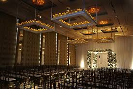 Candle Lighting Chicago Classic Wedding With Pops Of Citrus In Chicago Illinois Inside