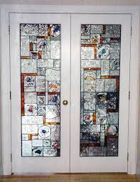 leaded glass french doors architectural