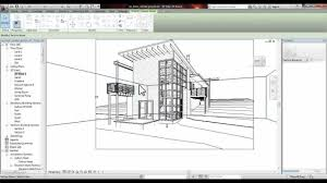 revit section perspective tutorial youtube