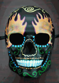 day of the dead masks of the dead skull mask