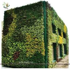 uvg grw011 vertical garden green wall fake plastic plants walls
