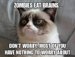 Meme Eat - zombies eat brains funny pictures quotes memes funny images