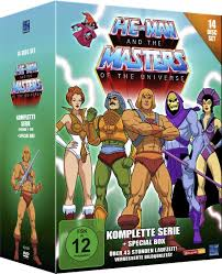 Wo K He Kaufen He Man And The Masters Of The Universe Komplette Serie 14 Disc