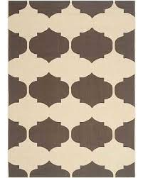 Outdoor Rug 6 X 9 20 Safavieh Courtyard Poolside Beige Chocolate