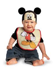 mickey mouse toddler costume mickey mouse bib hat infant baby toddler boys costume