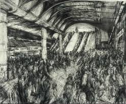Barnes Station London Jeanette Barnes Visions Of London Exhibition At Art Space