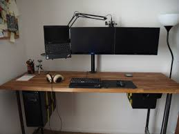 diy adjustable standing desk reddit decorative desk decoration