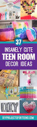 Pinterest Bedroom Decor Diy by 37 Insanely Cute Teen Bedroom Ideas For Diy Decor Girls Bedroom
