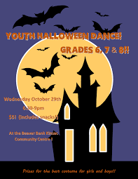 halloween dance images youth halloween dance beaver bank kinsac community centre