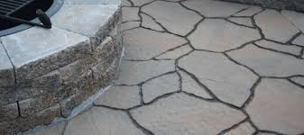 Concrete Patio With Pavers Pavers Concrete And Also Covering Concrete Patio With