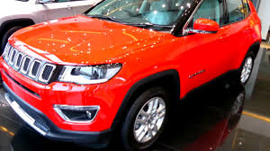 red jeep compass interior jeep compass exotica red colour walkaround youtube