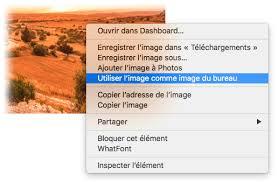 bureau ne s affiche pas choisir une image comme fond d écran dans safari jm et mac