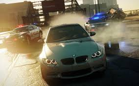 bmw in need for speed bmw in pursuit desktop background hd 1152x720