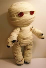 felt mummy stuffed rag doll by southerngothica via etsy dollies