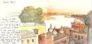 Varanasi India Map by Varanasi Travel Drawn