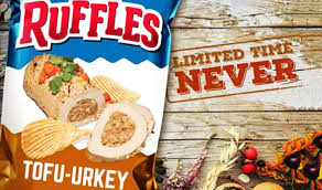 ruffles apologizes for anti vegan tofu urkey ad
