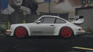 rauh welt porsche 911 1991 porsche 911 964 turbo hoonigan u0026 rauh welt 1 0 for gta 5