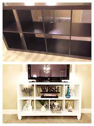 ikea shelf hack diy ikea bookshelf to tv stand i u0027ll do it myself pinterest