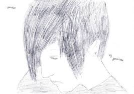 emo boy sketch by jessicorex on deviantart