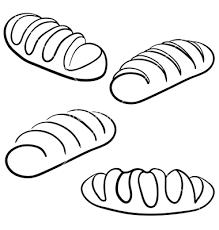 bread clipart sketch pencil and in color bread clipart sketch