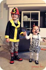 Dalmatian Halloween Costume Toddler Creative Kids Firefighter Dalmatian Costumes Diy