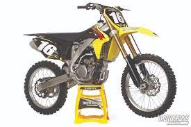 best 250 motocross bike motocross action magazine mxa u0027s 2015 suzuki rm z250 motocross test