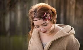 boho headband boho headband flower hair tie vintage wedding flower headband