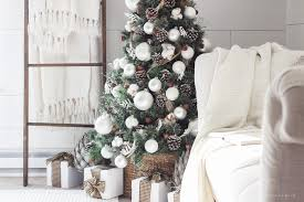 Simple Decoration For Christmas by Simple Farmhouse Christmas Bedroom Love Grows Wild