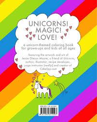 amazon com the unicorn coloring book 9781364315597 jessie