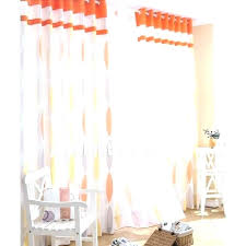 Orange White Curtains Orange Bedroom Curtains Openasia Club